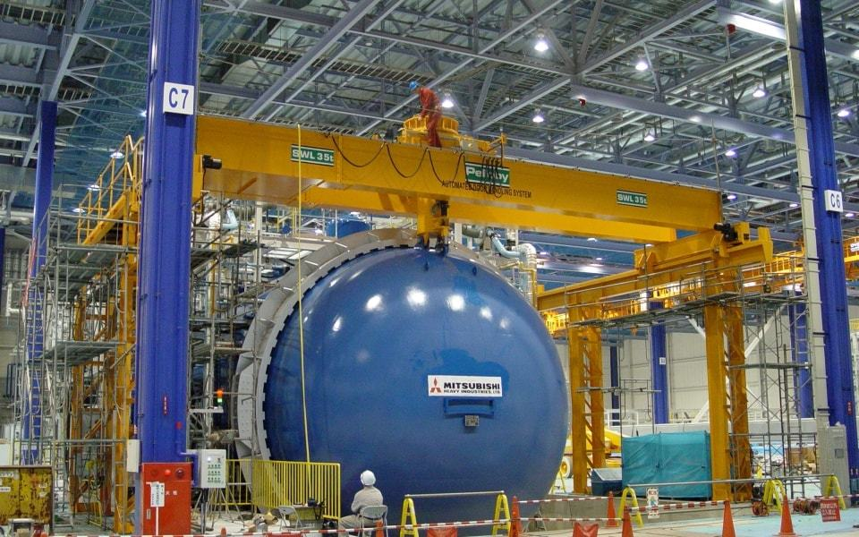 35 Tonne Nuclear Door Automated Handling System