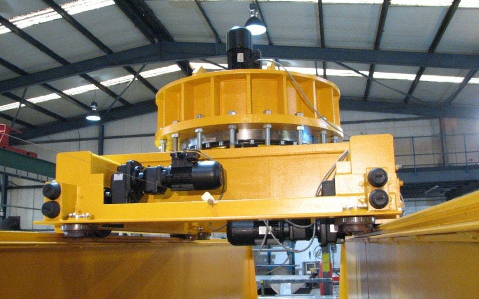 Automated Handling System - Close Up