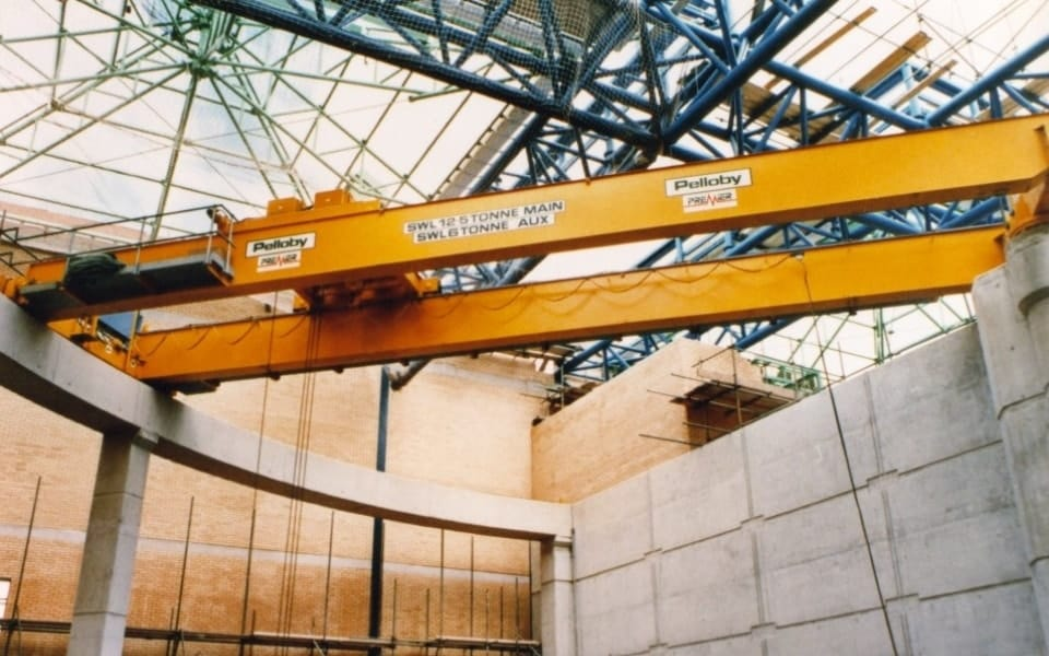 12.5 Tonne Double Girder Overhead Crane