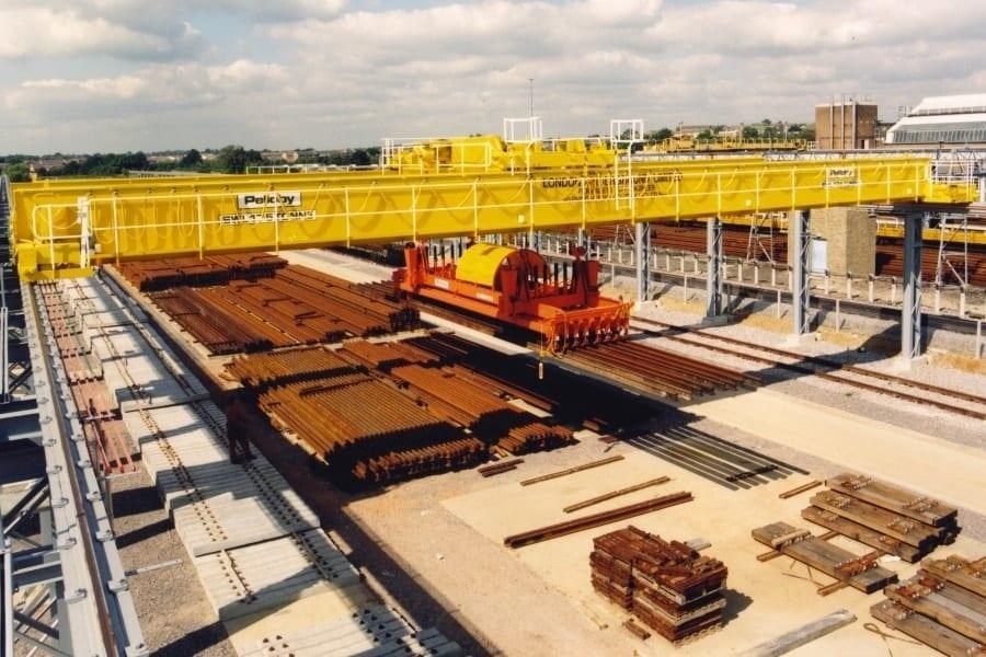 Heavy Duty Pelloby Process Crane