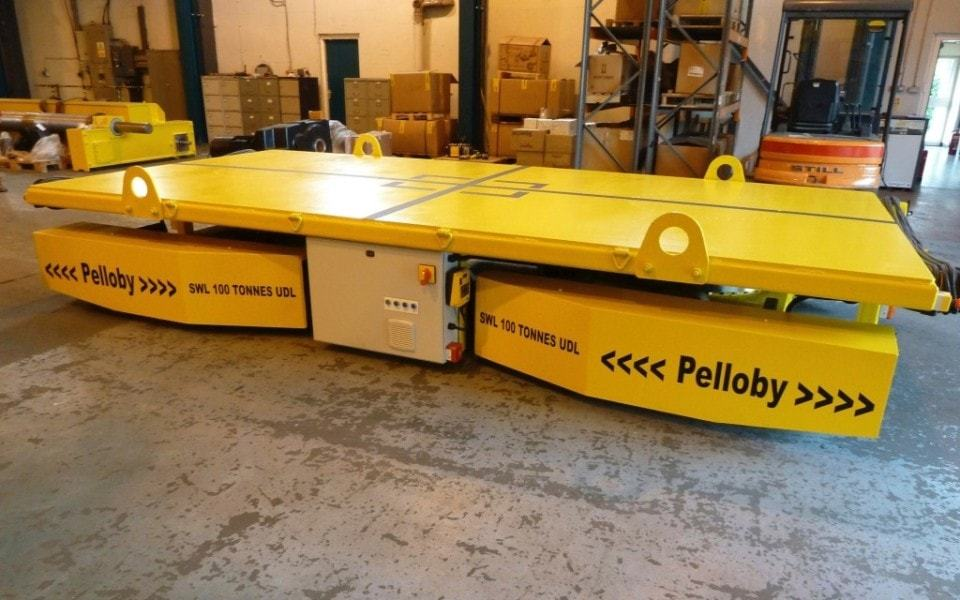 100 Tonne Floor Transporter - Pelloby Automated Handling Systems