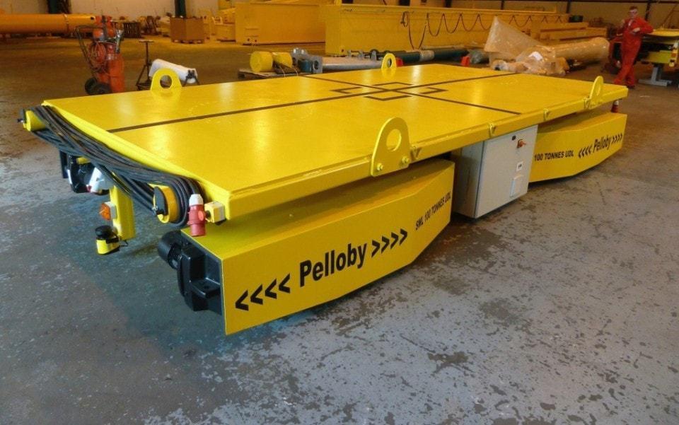 Bespoke Pelloby 100 Tonne Floor Transporter