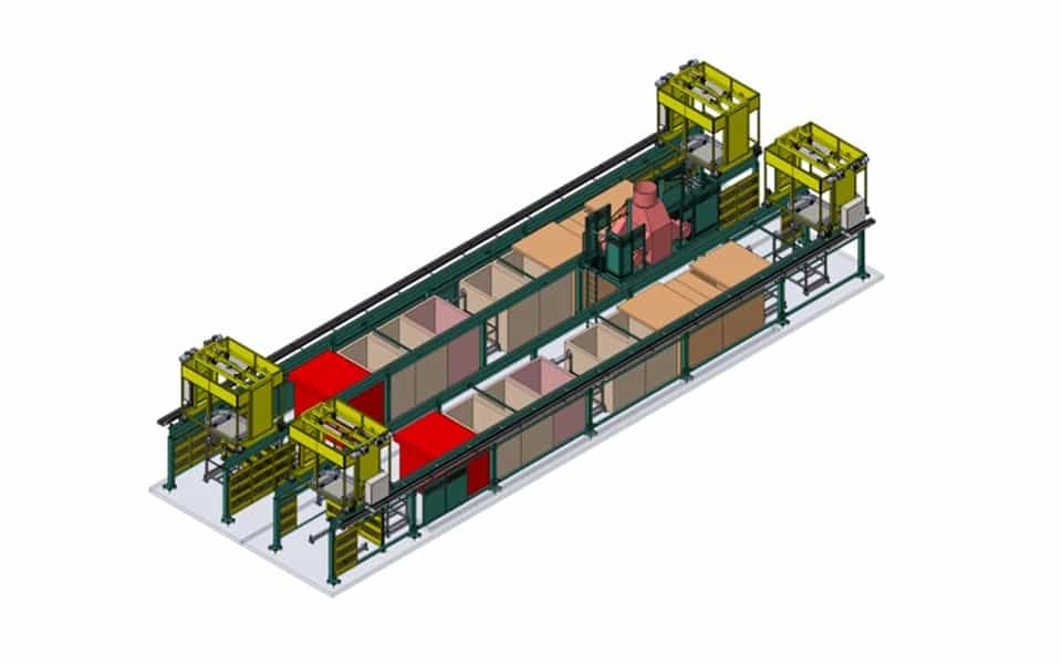 Automated handling system render
