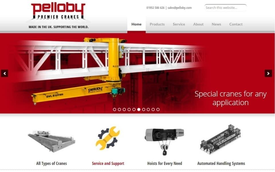 Pelloby New website Screen grab