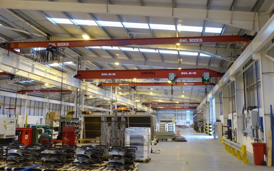 Various Overhead Travelling Cranes