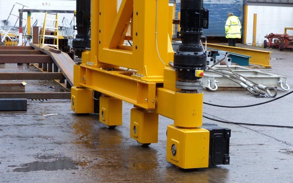 Special Crane – bespoke heavy duty castor wheels