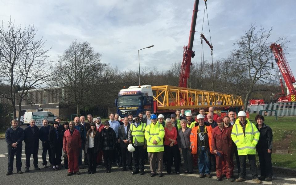 Pelloby Team Photo – Crane Suppliers UK