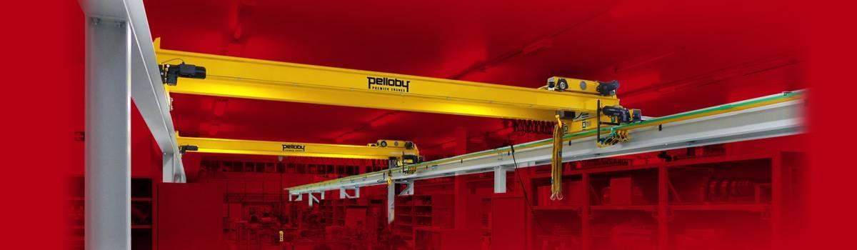 Yellow Pelloby Overhead Cranes