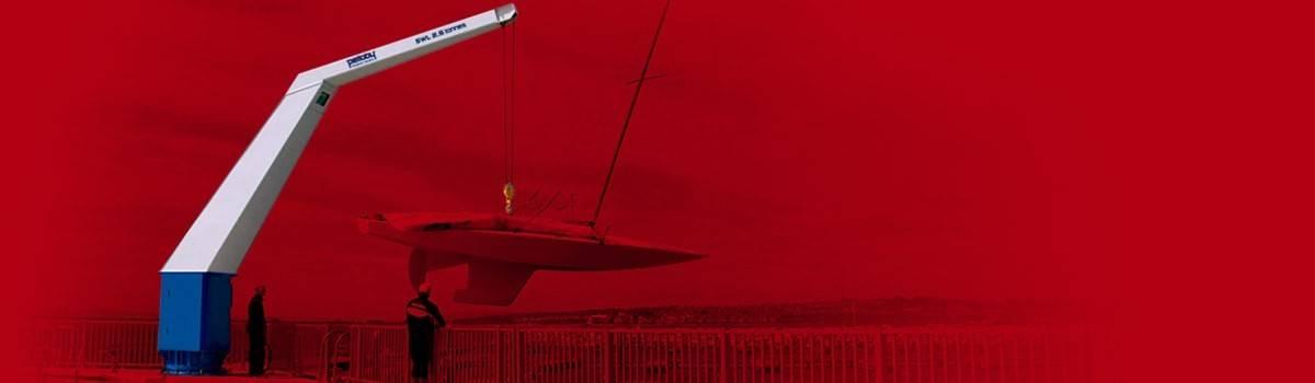 Pelloby jib crane banner – Colour