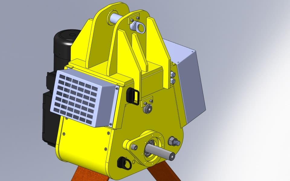 Pelloby Load Turning Units - Render
