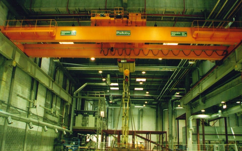 Overhead Crane Training Requirements Uk : Process cranes heavy duty from a leading uk
