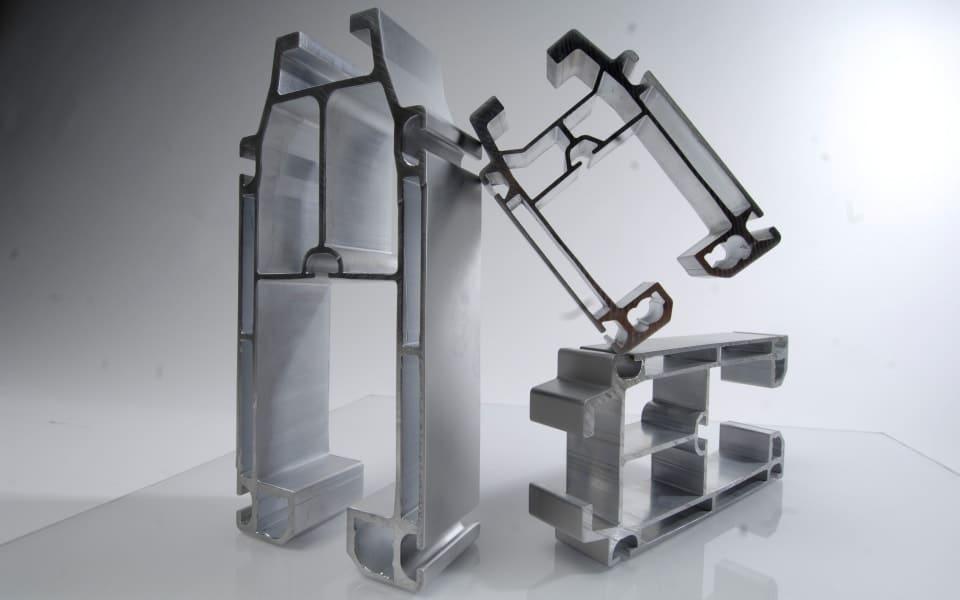 3 aluminium crane beams profile
