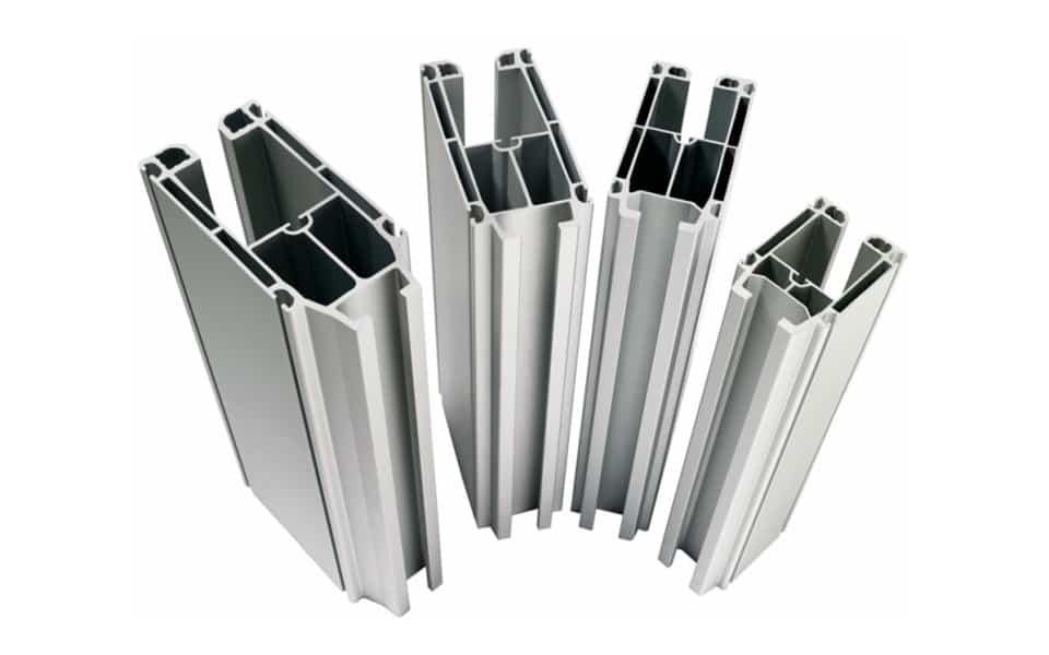 4 aluminium crane beams profile