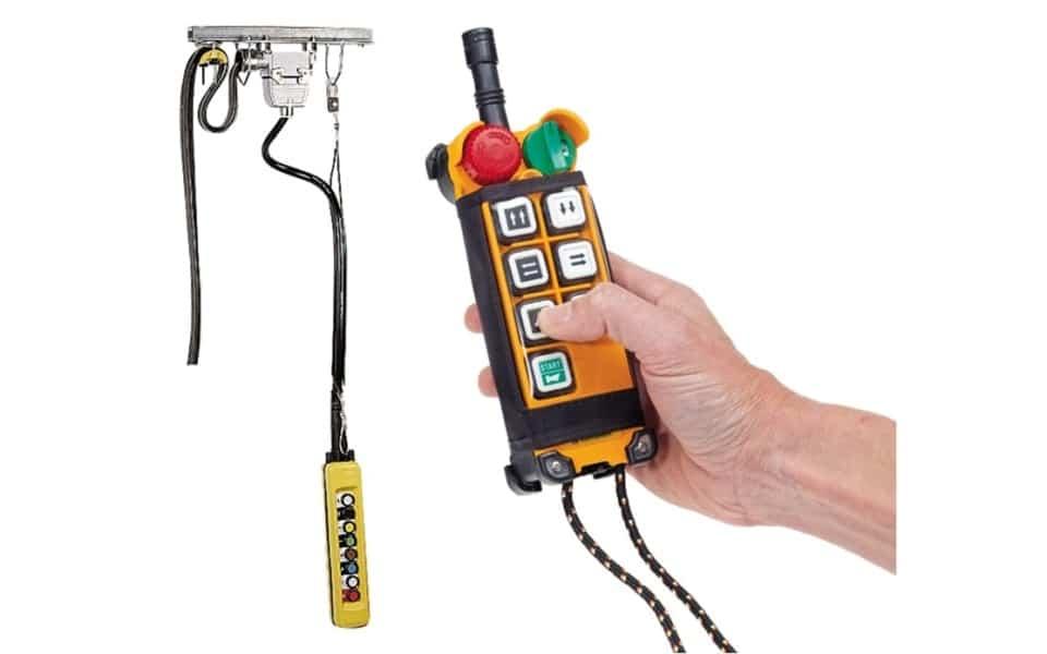 Crane kit controls