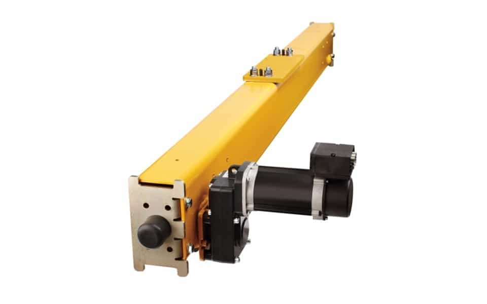 Crane kit yellow end carriage