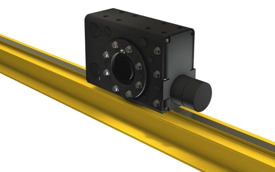 Crane kit motor on beam