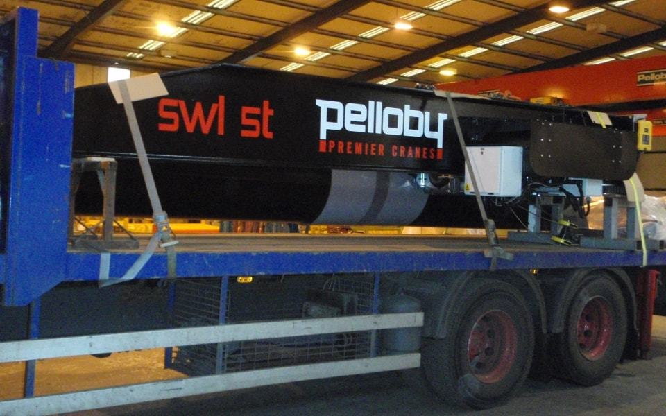 Yarmouth Post Jib Crane Arm Delivery