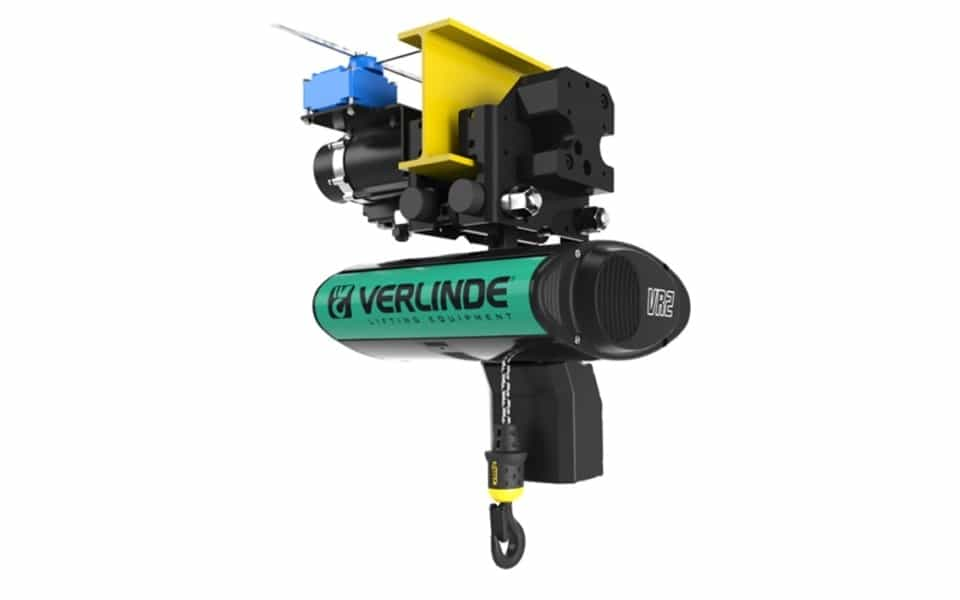Verlinde Eurochain vr2 electric trolley hoist