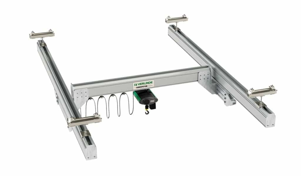 verlinde lightweight crane single girder