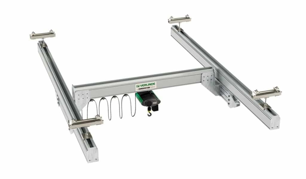 verlinde lightweight crane single girder