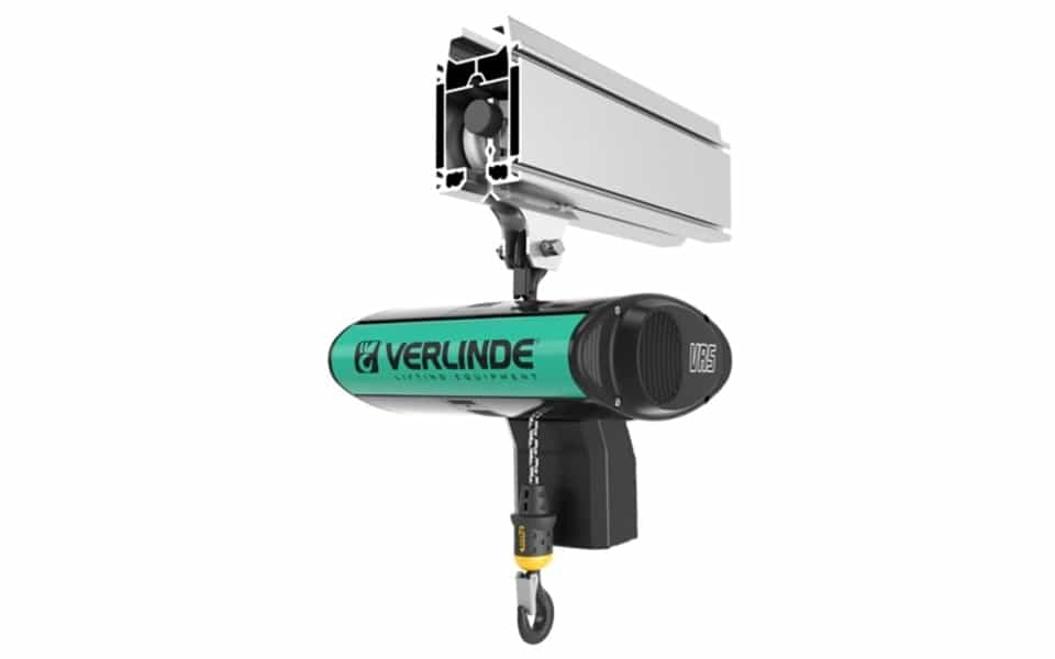 Verlinde profile aluminum hoist