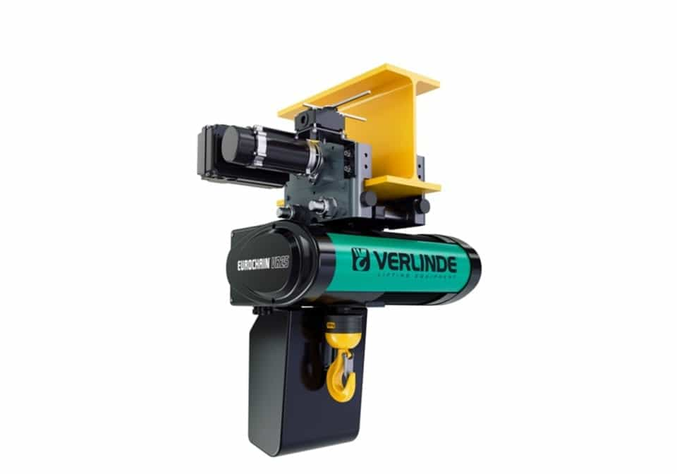 Verlinde vr25 trolley hoist