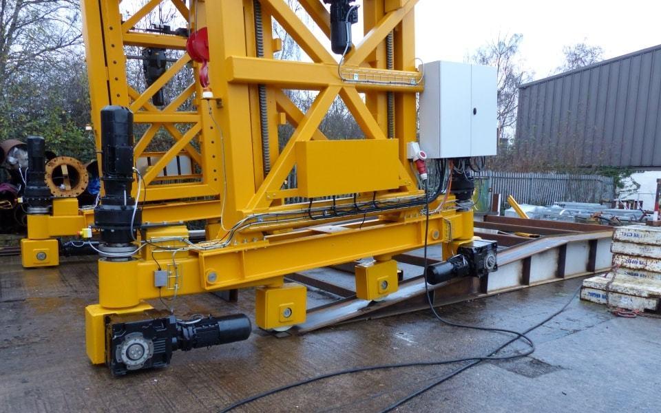 Heavy Duty Mobile Gantry Crane Wheels