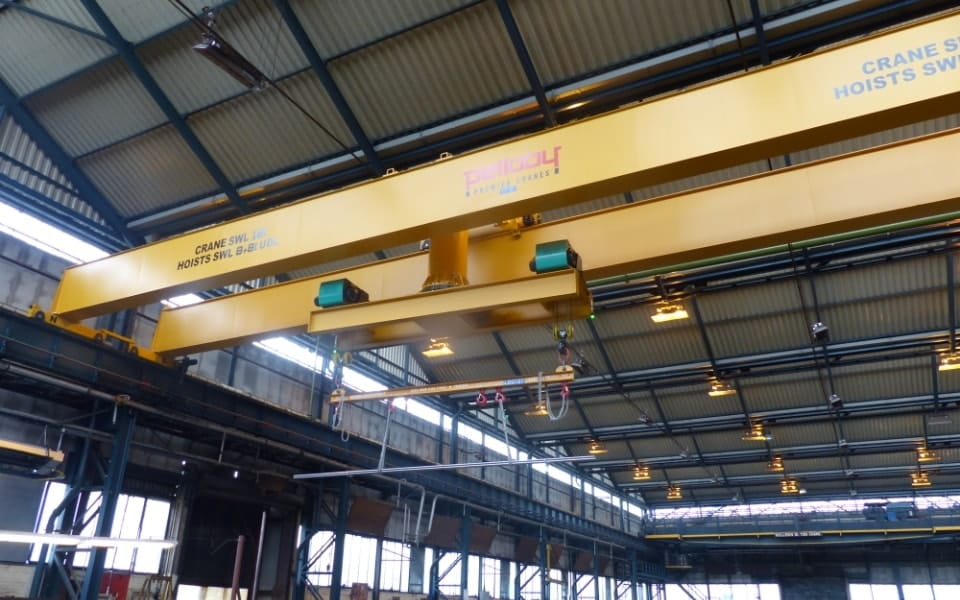 Double Girder Turntable Crane