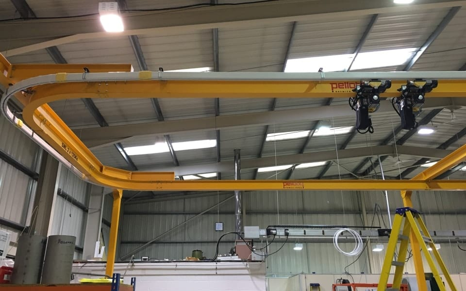 12.5 Tonne Looped Monorail Crane