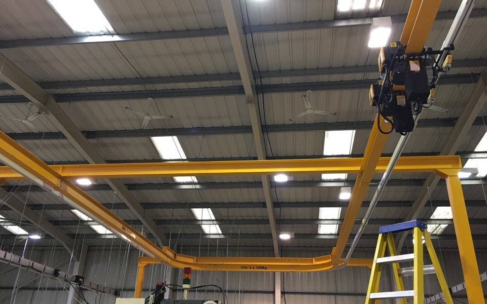 Monorail Cranes | Post or Ceiling Mounted Cranes