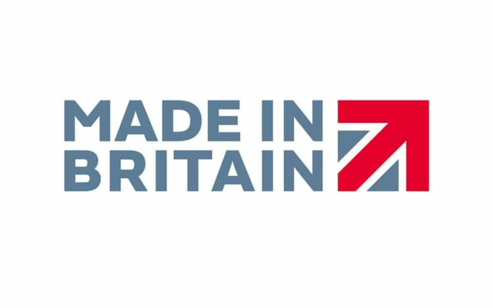 Made in Britain Horizontal Stacked Logo