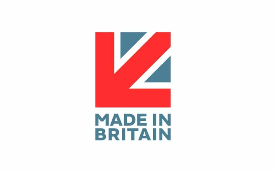 Made in Britain Vertical Stacked Logo