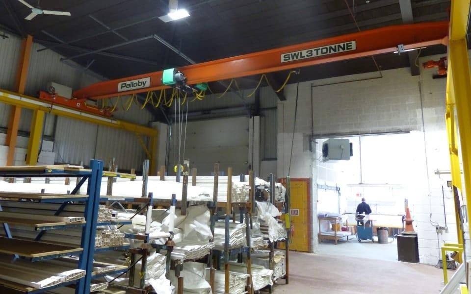 Pelloby crane refurbishment project