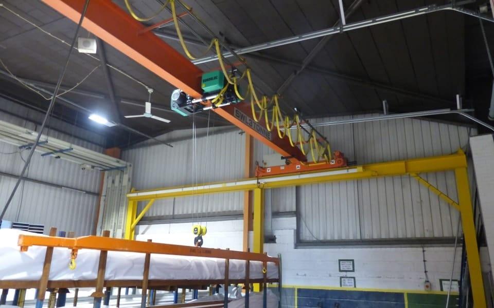Pelloby crane refurbishment