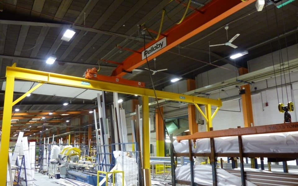 crane refurbishment and modernisation