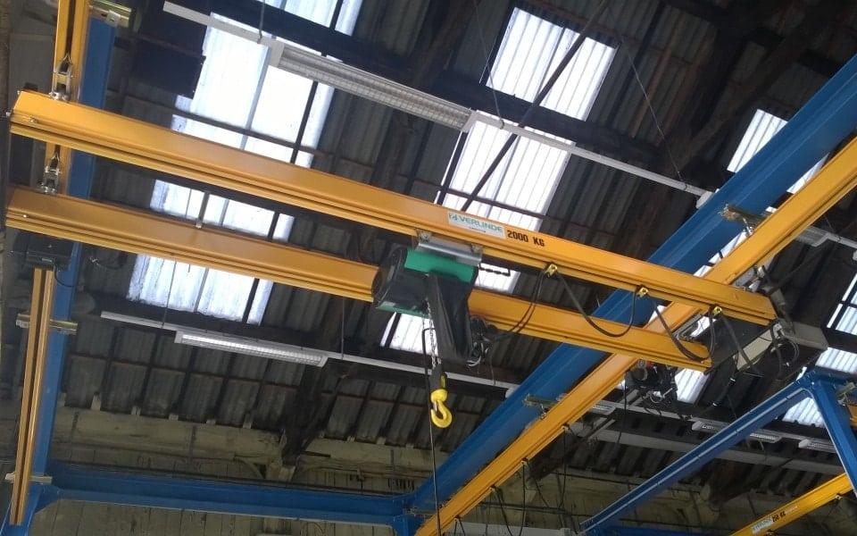 Double girder overhead verlinde eurosystem