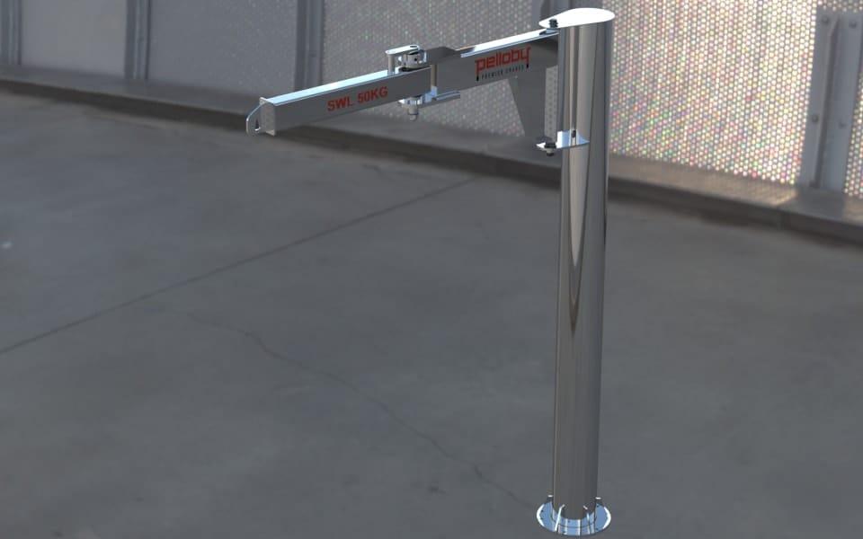 Stainless Steel Knuckle Jib Crane
