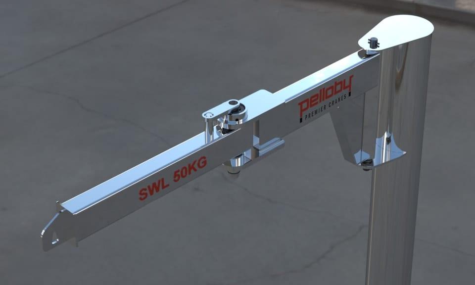 Pelloby Stainless Steel Knuckle Jib Crane