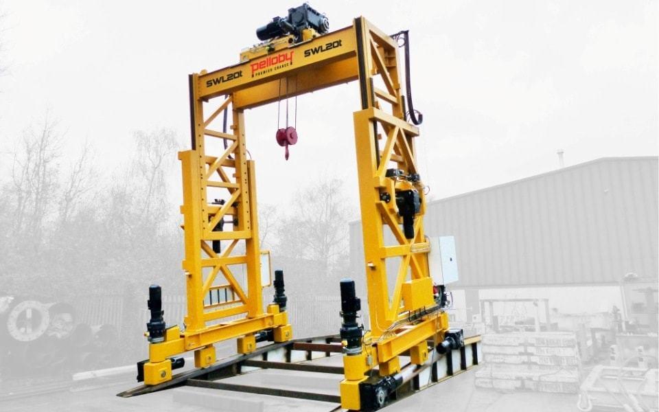Bespoke 20 tonne Pelloby gantry crane
