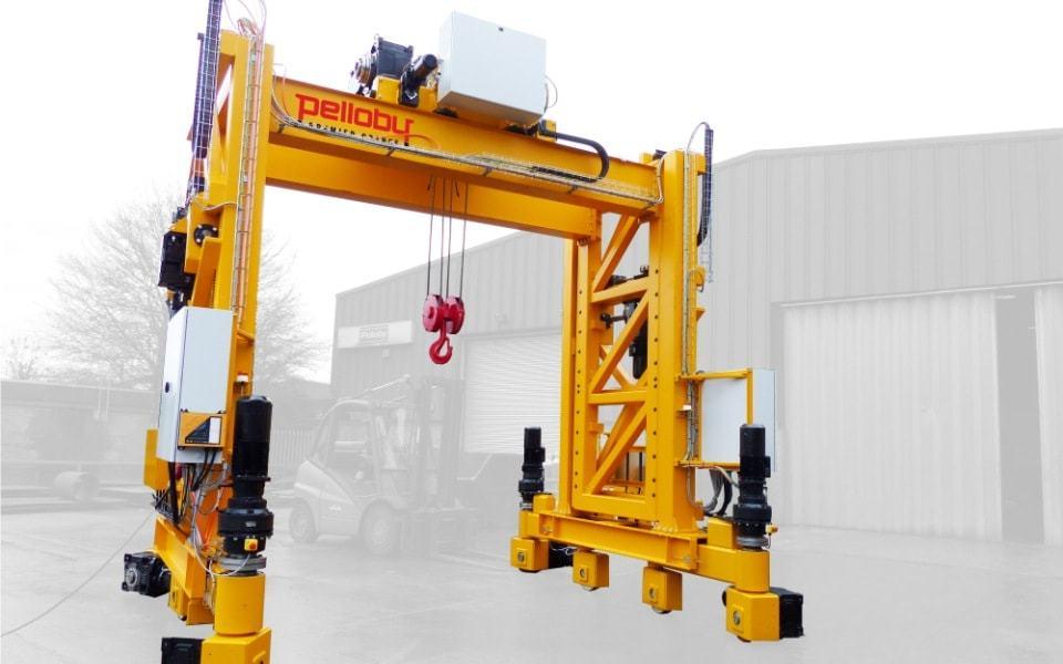 20 tonne Pelloby portable gantry crane