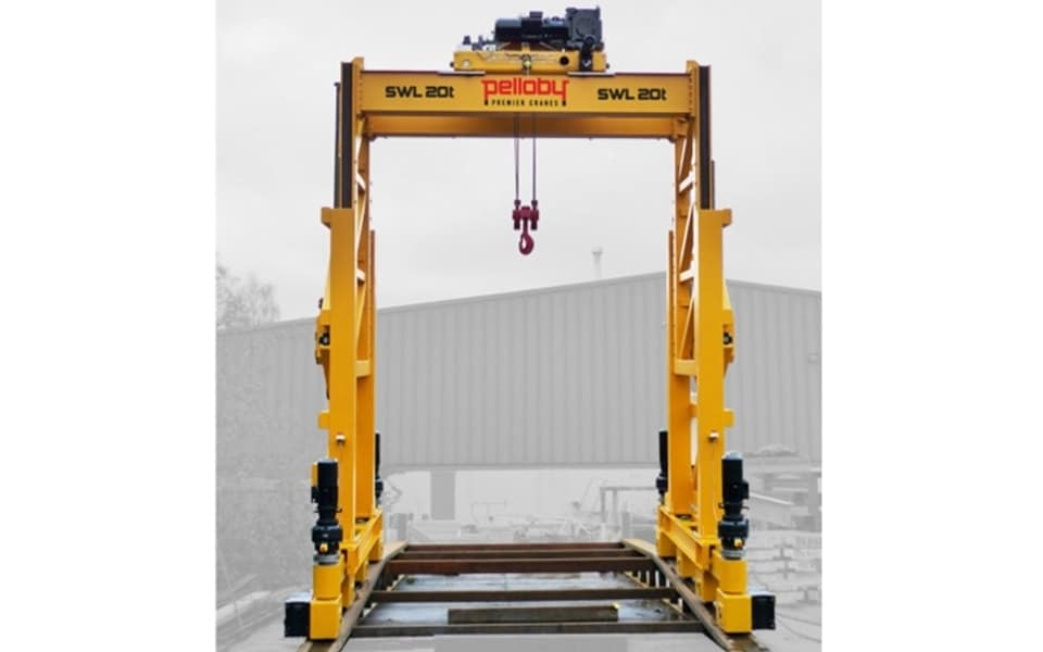 Pelloby 20 tonne portable gantry crane