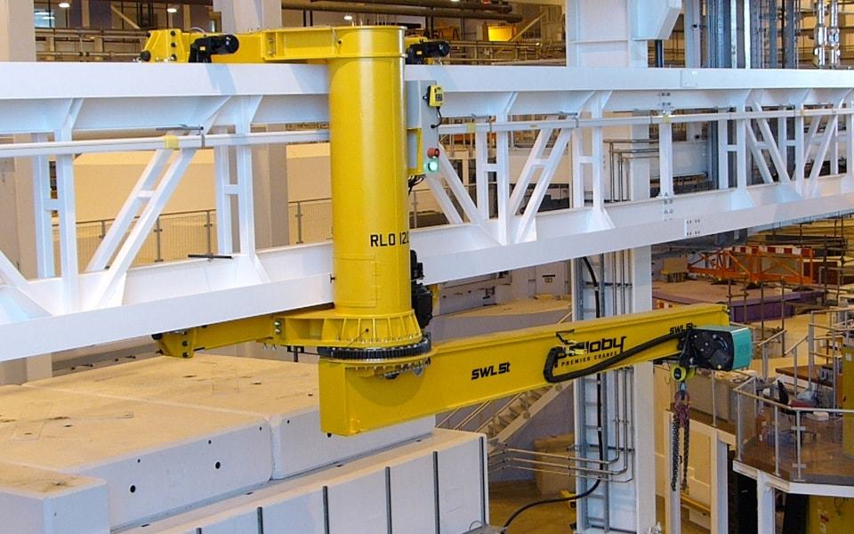 Five tonne special jib crane