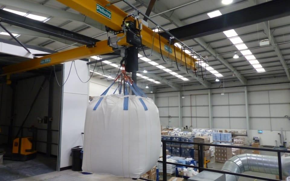 Overhead monorail crane Pelloby