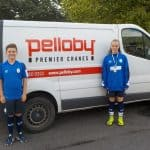 Pelloby Sponsor AFC Telford United Youth Footballers