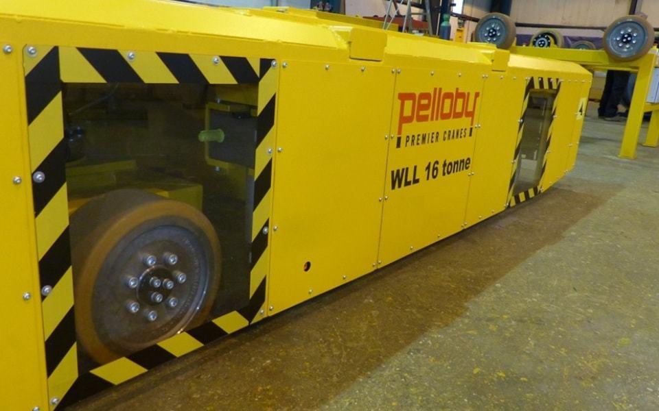 Floor transporter 16 tonne capacity