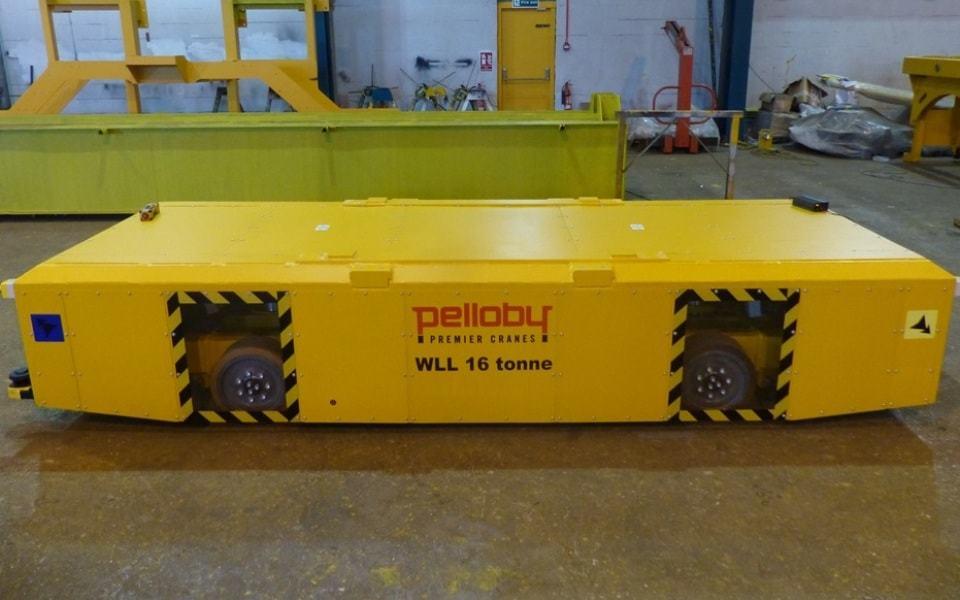 Pelloby floor transporter