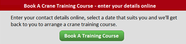 Book a training course inspection button