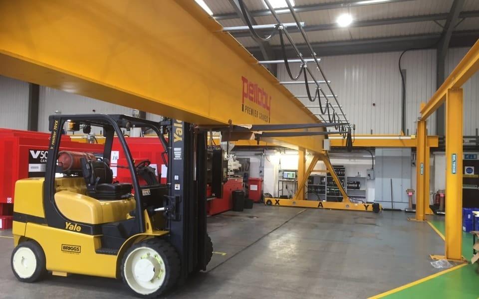 Pelloby crane installation at Goodfish