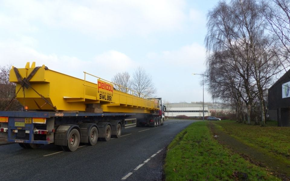 35 Tonne Crane Being Transported