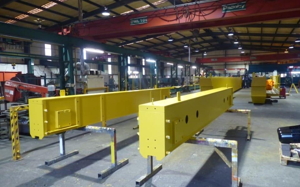 35 Tonne Crane End Carriages